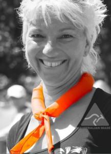 Cobber koelshawl oranje